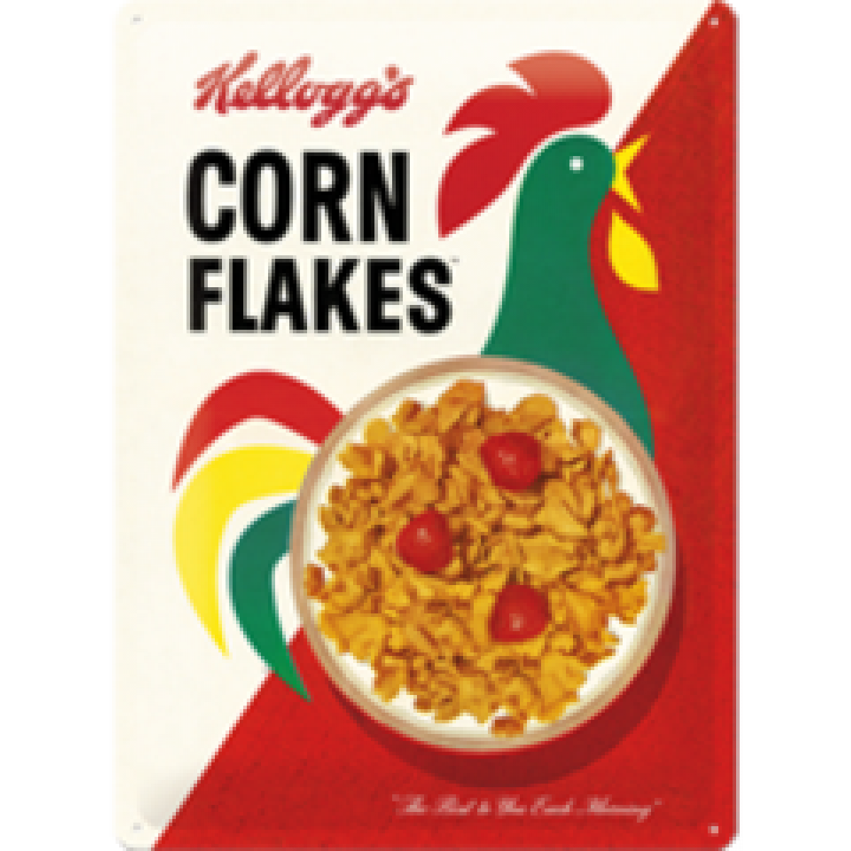 Man Cave Gift Ideas Kelloggs Corn Flakes Tin Sign Man Zone Gift Ideas