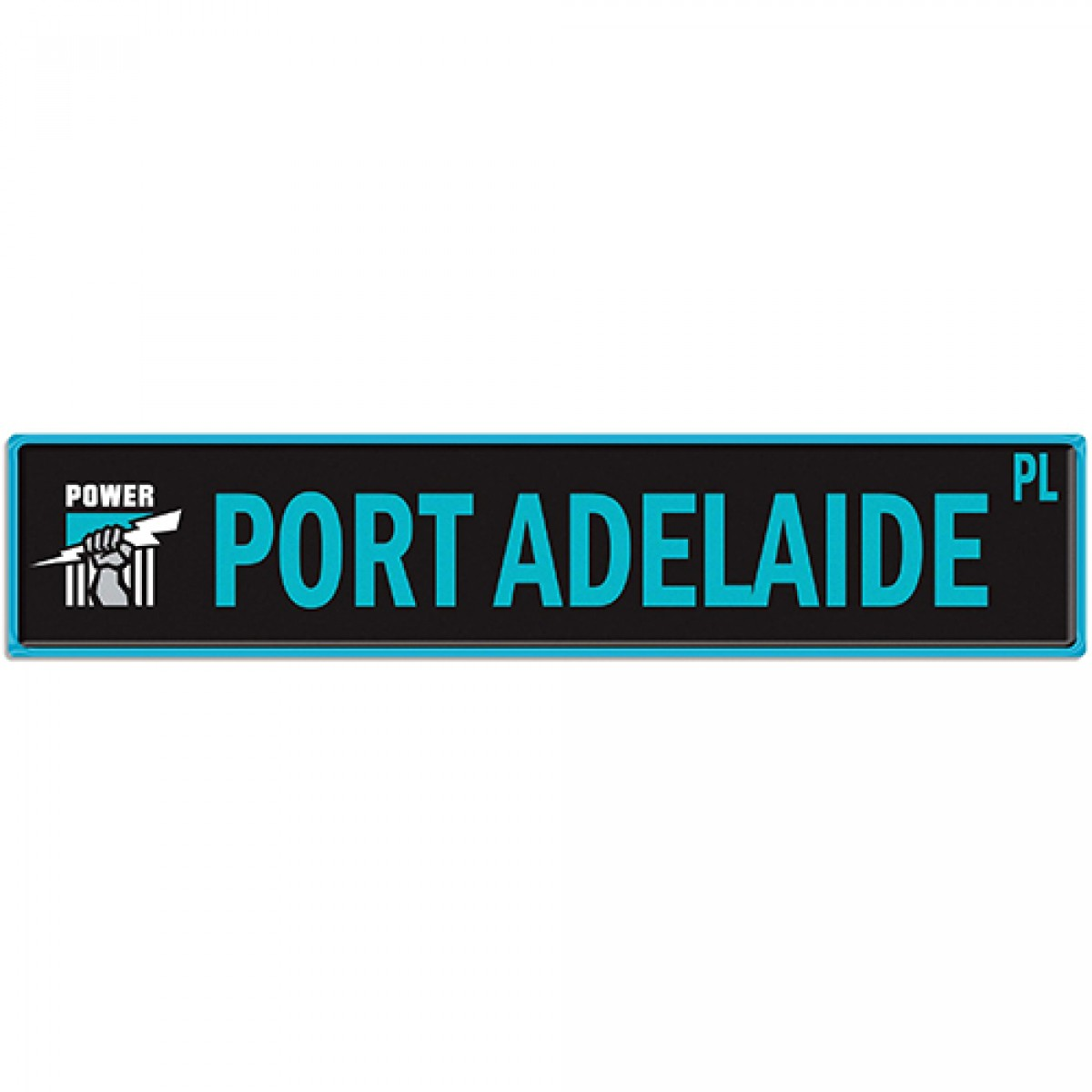 Man Cave Signs Sydney : Afl port adelaide street sign signs man zone gift