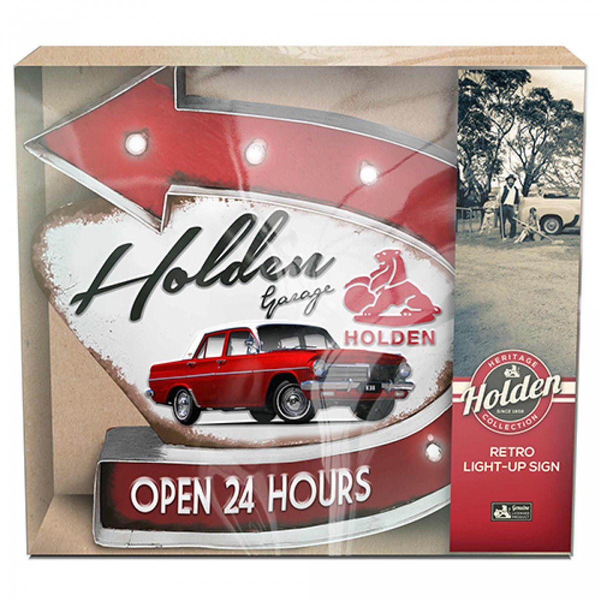 Light Up Your Garage Creatively: HOLDEN GARAGE LIGHT UP SIGN