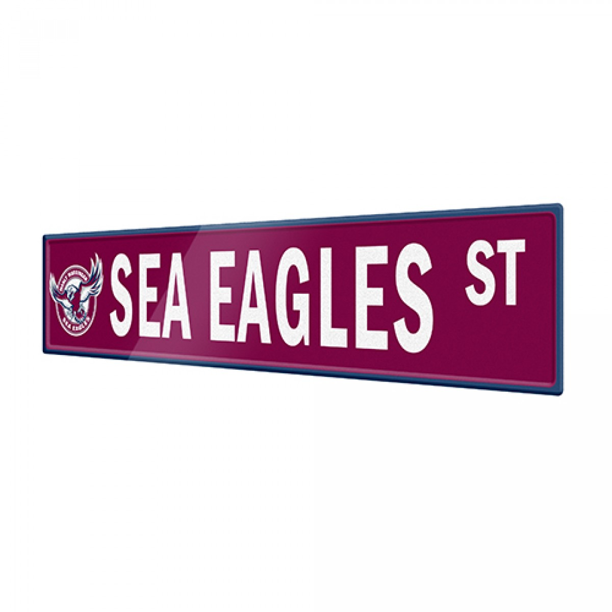 Man Cave Signs Sydney : Sea eagles street sign sport tin signs man