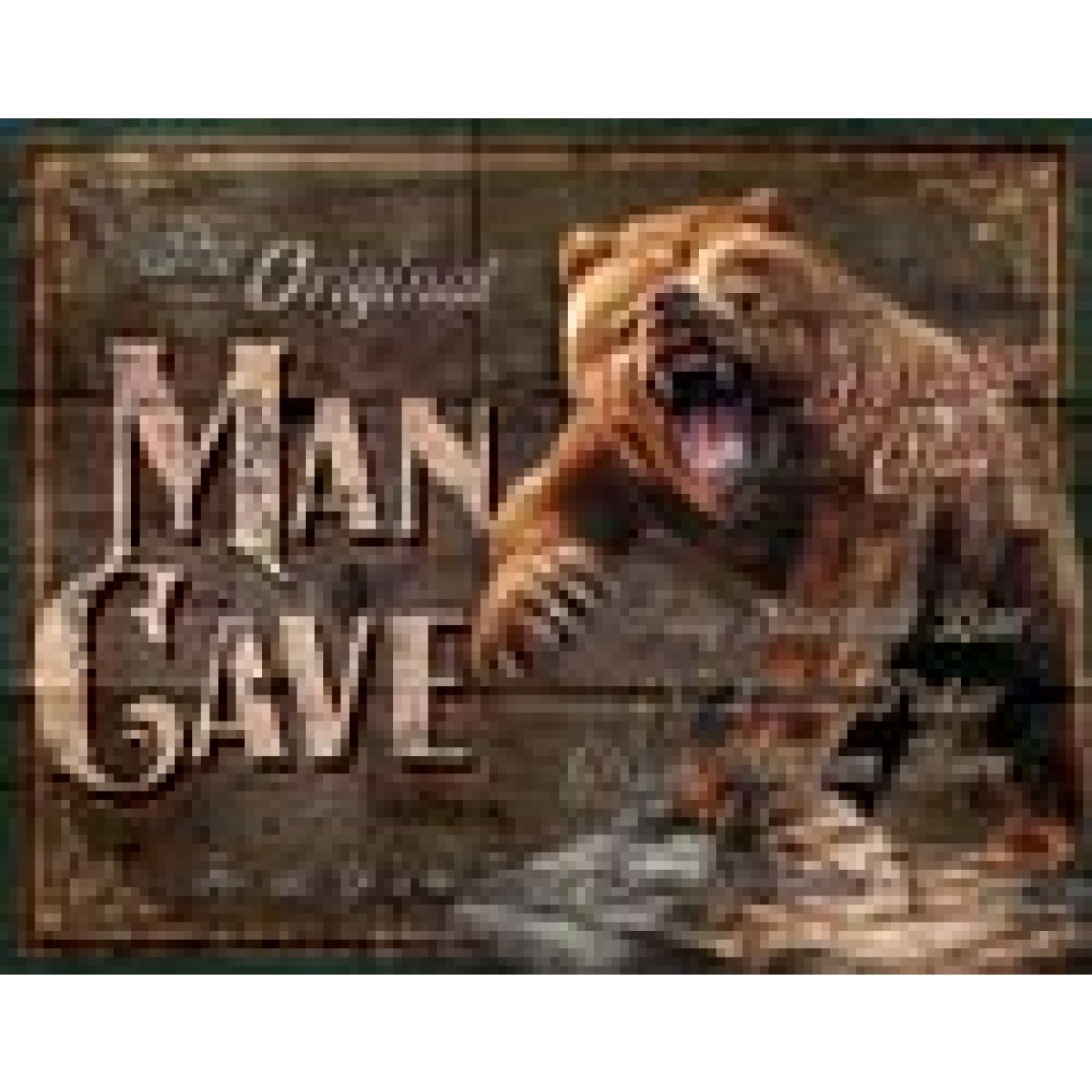 Man Cave Signs Sydney : Man cave original tin sign signs zone