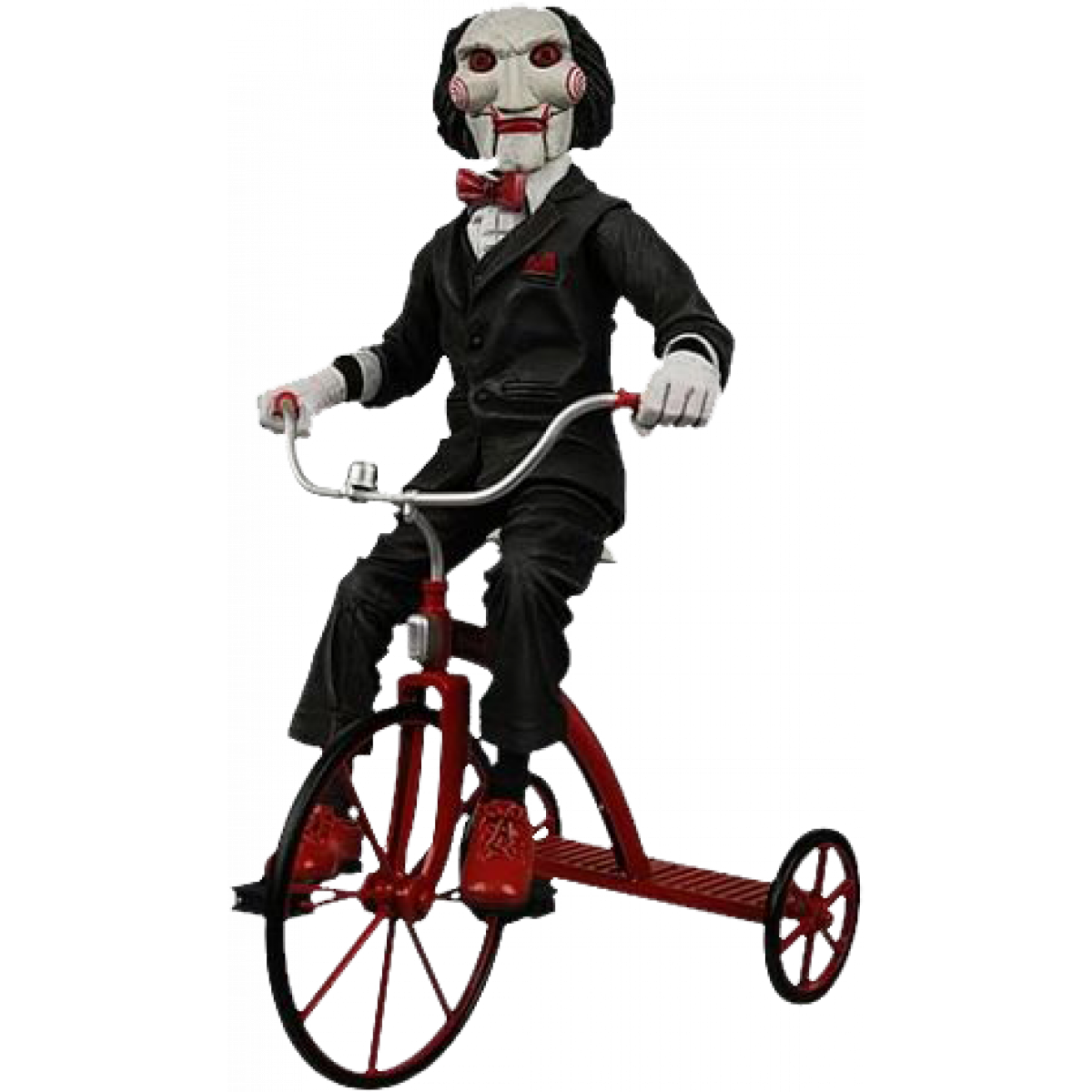 SAW BILLY THE PUPPET ON TRICYCLE 12 FIGURE Man Zone
