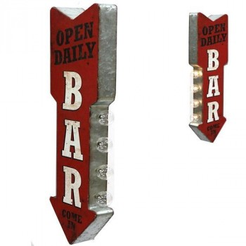 BAR OPEN DAILY OFF THE WALL SIGN