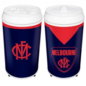 AFL MELBOURNE COOLA CAN BAR FRIDGE