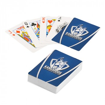 AFL NORTH MELBOURNE PLAYING CARDS