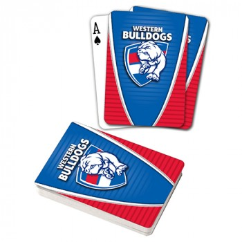 AFL WESTERN BULLDOGS PLAYING CARDS