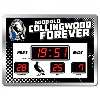 COLLINGWOOD SCOREBOARD CLOCK