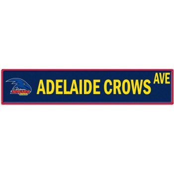 ADELAIDE CROWS STREET SIGN
