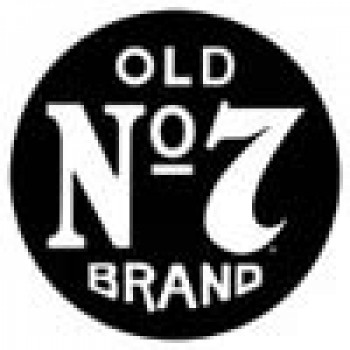 JACK DANIEL'S OLD No 7 ROUND TIN SIGN
