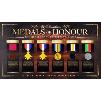 Medals of Honour WW1 Framed Print