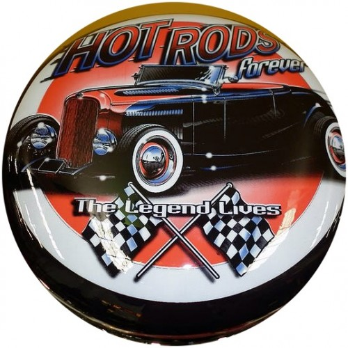 Hot Rods Forever Bar Stool Man Zone Gift Ideas