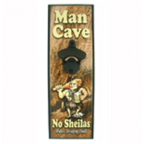 Man Cave Gifts Reviews : Man cave wall mounted bottle opener openers