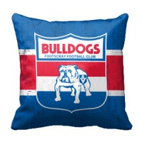 AFL WESTERN BULLDOGS CUSHION