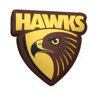 AFL HAWTHORN LOGO CUSHION