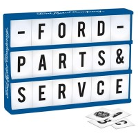 FORD LIGHT UP BOX