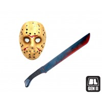 Jason Combo Mask & Sword
