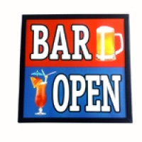 BAR OPEN LED LIGHT BOX