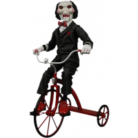 "SAW - BILLY THE PUPPET ON TRICYCLE 12"" FIGURE"