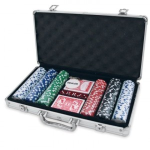 300 PC POKER GAME SET