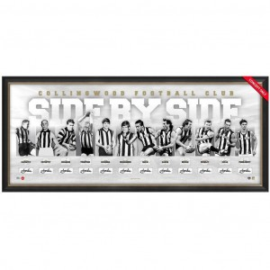 COLLINGWOOD 125TH ANNIVERSARY SIGNED 'SIDE BY SIDE'