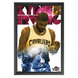 KYRIE IRVING - CLEVELAND CAVALIERS FRAMED