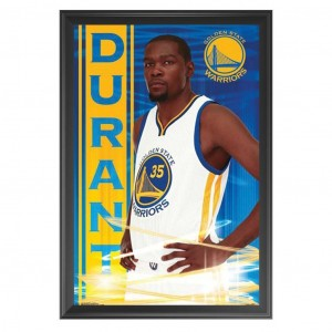 KEVIN DURANT - GOLDEN STATE WARRIORS FRAMED