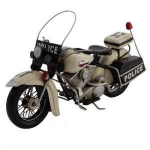 1976 POLICE MOTORCYCLE (33CM)