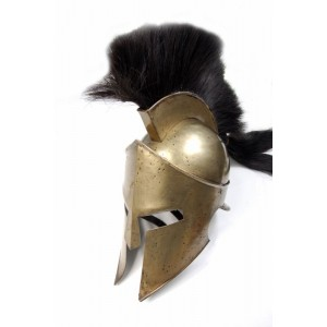 SPARTAN HELMET WITH STAND