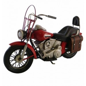 MOTORCYCLE RED HD 1992 30CM
