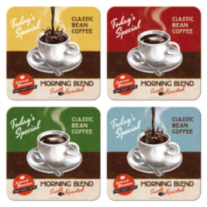 BEST BLEND COASTERS 4 PACK