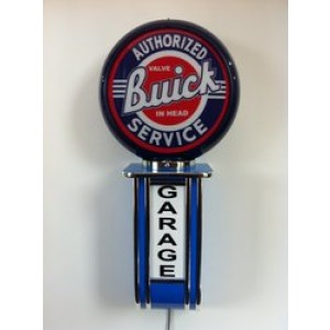 BUICK ILLUMINATED WALL MOUNTED GARAGE SIGN