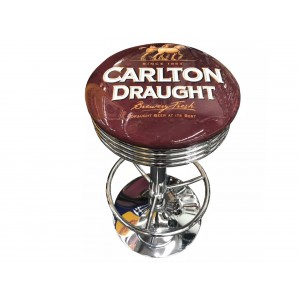 CARLTON DRAUGHT BAR STOOL