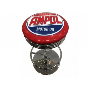 AMPOL MOTOR OIL BAR STOOL
