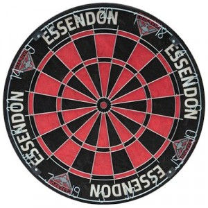 AFL ESSENDON DARTBOARD