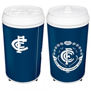AFL CARLTON COOLA CAN BAR FRIDGE