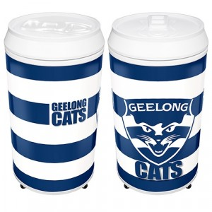AFL GEELONG COOLA CAN BAR FRIDGE