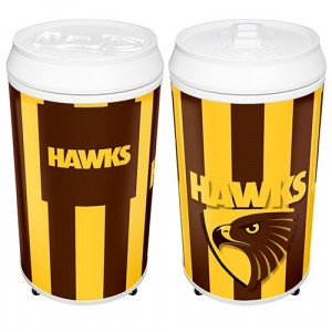 AFL HAWTHORN COOLA CAN BAR FRIDGE