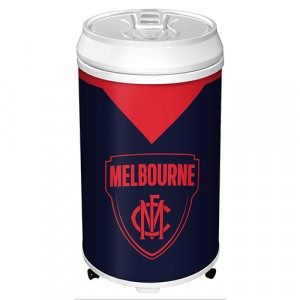 AFL MELBOURNE COOLER CAN BAR FRIDGE