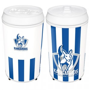AFL KANGAROOS COOLA CAN BAR FRIDGE