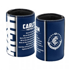 AFL CARLTON TEAM SONG STUBBY HOLDER