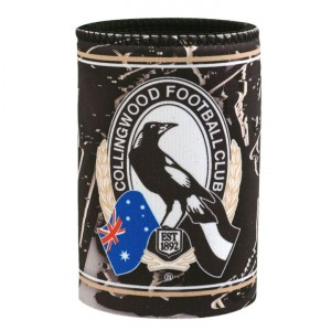 AFL COLLINGWOOD TEAM SONG STUBBY HOLDER