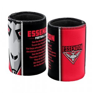 AFL ESSENDON TEAM SONG STUBBY HOLDER