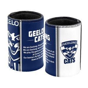 AFL GEELONG TEAM SONG STUBBY HOLDER