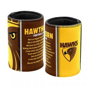 AFL HAWTHORN TEAM SONG STUBBY HOLDER