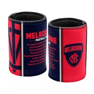 AFL MELBOURNE TEAM SONG STUBBY HOLDER