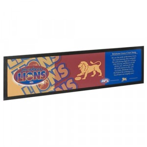 AFL BRISBANE LIONS BAR RUNNER
