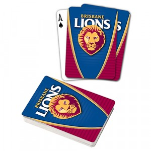 AFL BRISBANE LIONS PLAYING CARDS