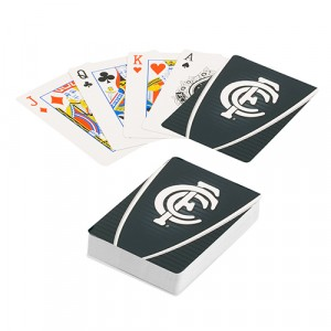 AFL CARLTON PLAYING CARDS