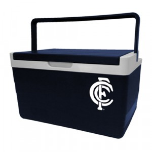 AFL CARLTON 5L HARD COOLER