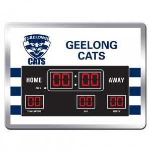 AFL GEELONG SCOREBOARD CLOCK